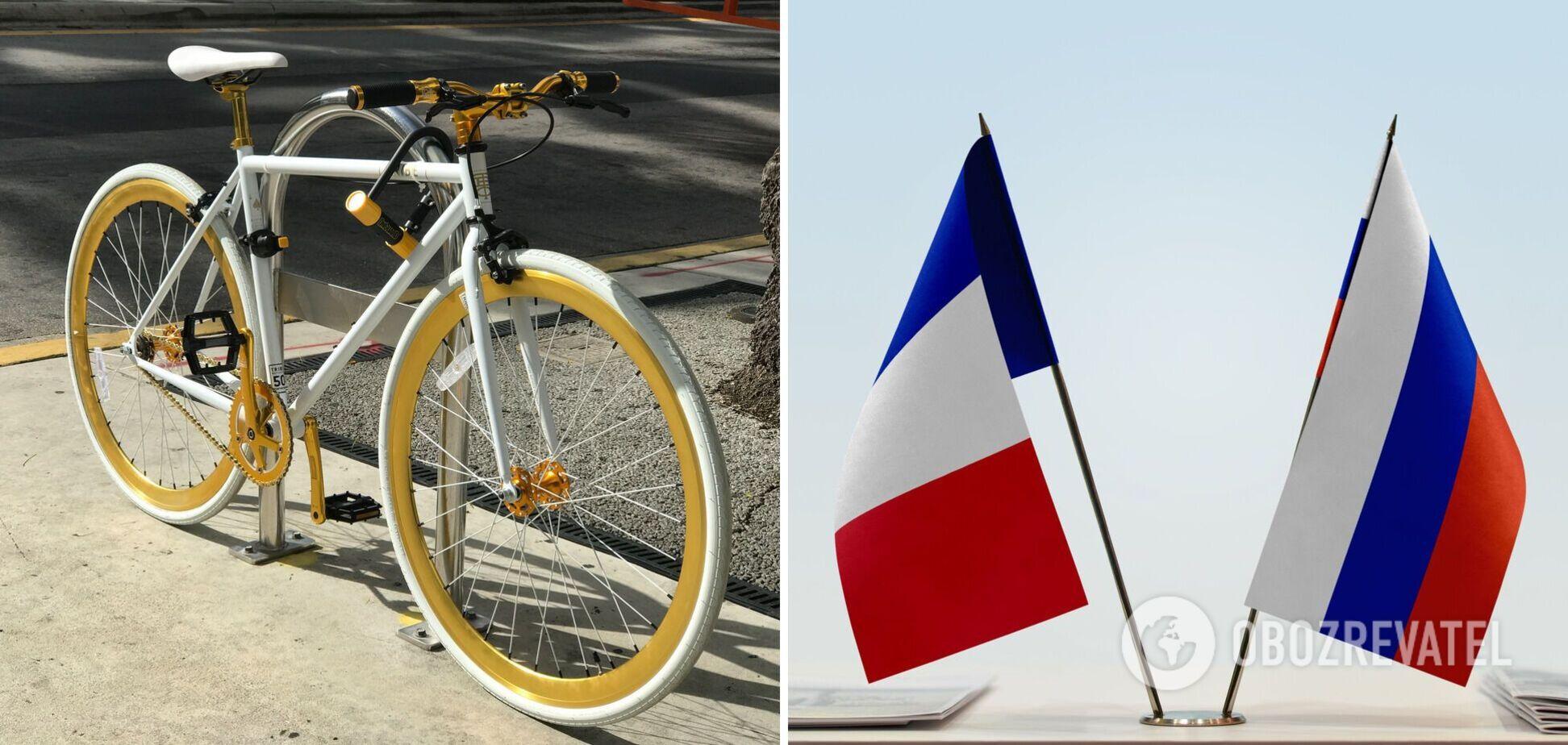 Велосипедний скандал з водієм дипломата РФ