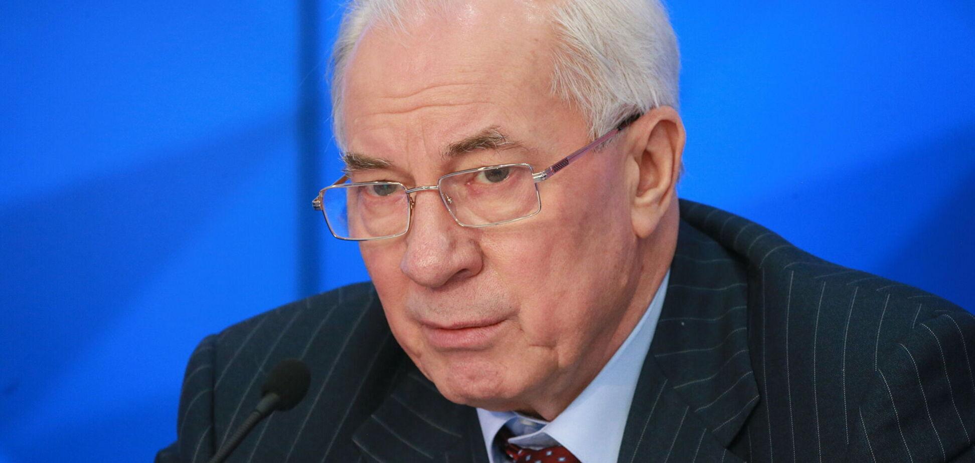 ДБР оголосило Азарову підозру в держзраді: його адвокат відповів