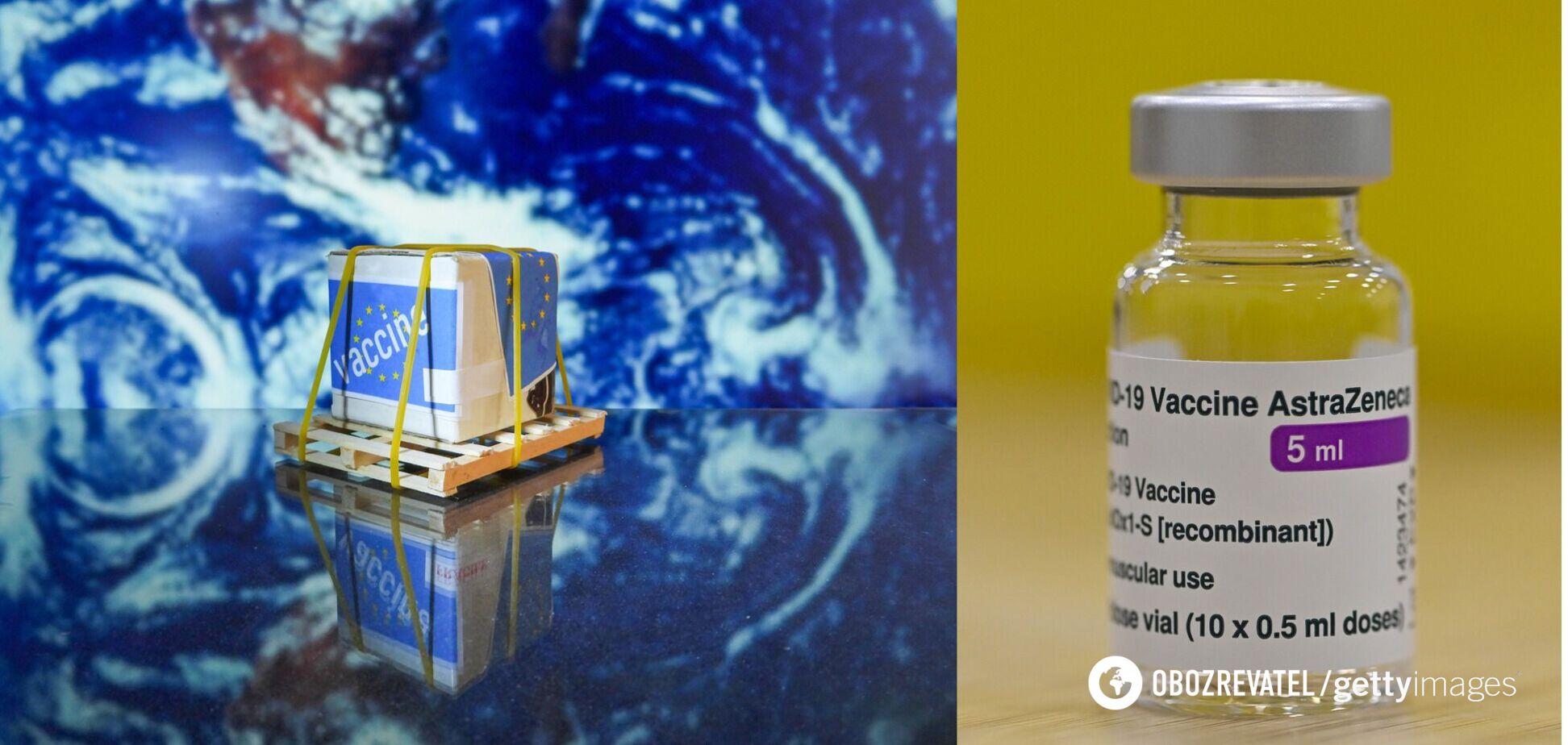 ЄС зібрався заборонити експорт вакцини від AstraZeneca в треті країни