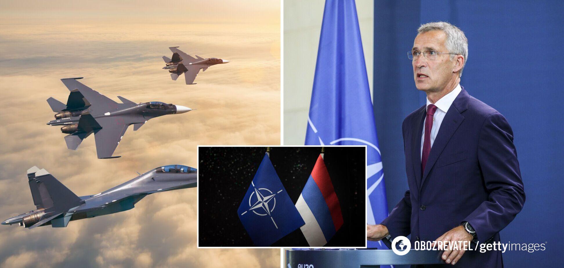 В НАТО обвинили Россию в агрессивном поведении и сказали, как будут отвечать