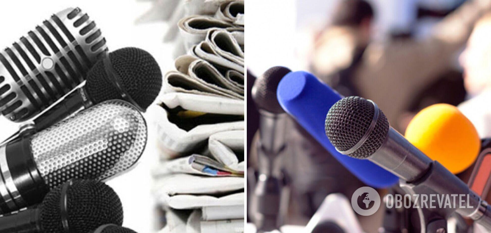Міжнародна та Європейська федерації журналістів підтримали вимоги Всеукраїнської наради редакторів до влади