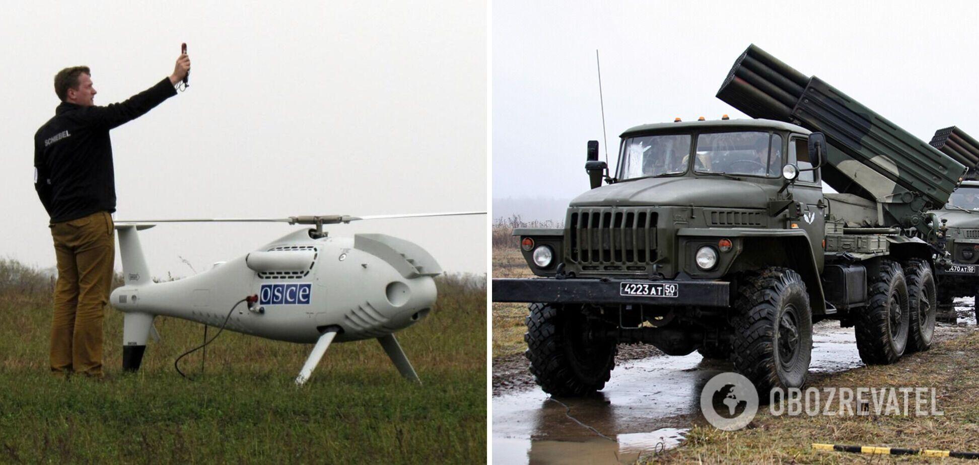 На Донбасі зафіксували велике скупчення військової техніки РФ