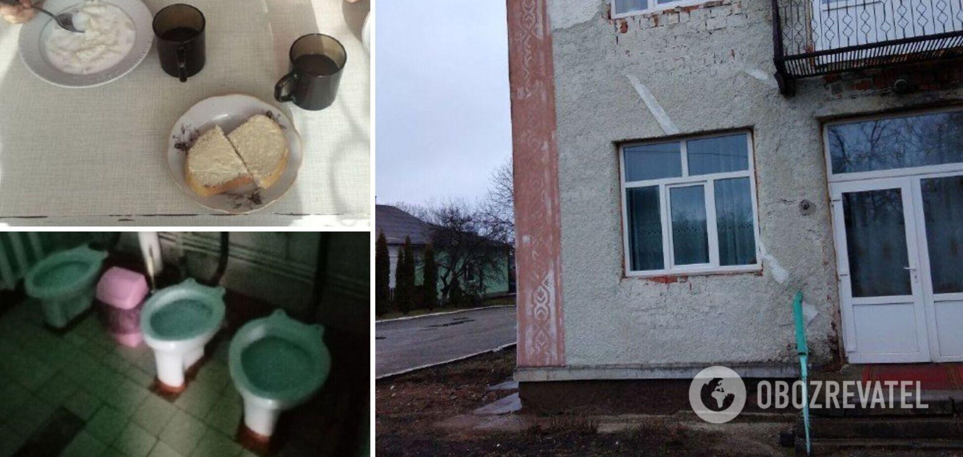 На Тернопольщине детсад оказался в центре скандала: детей плохо кормят, а в здании нет воды