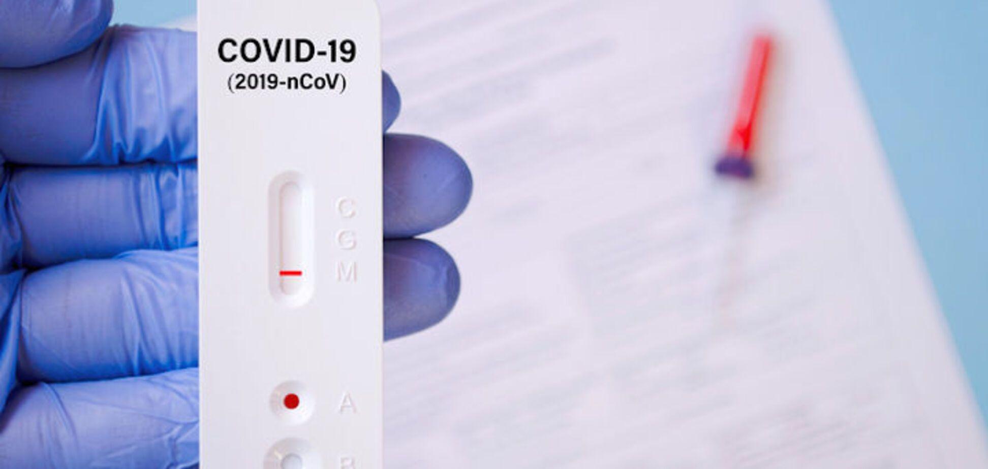 Швидкий антиген-тест: позитивним без наявності вірусу не буває