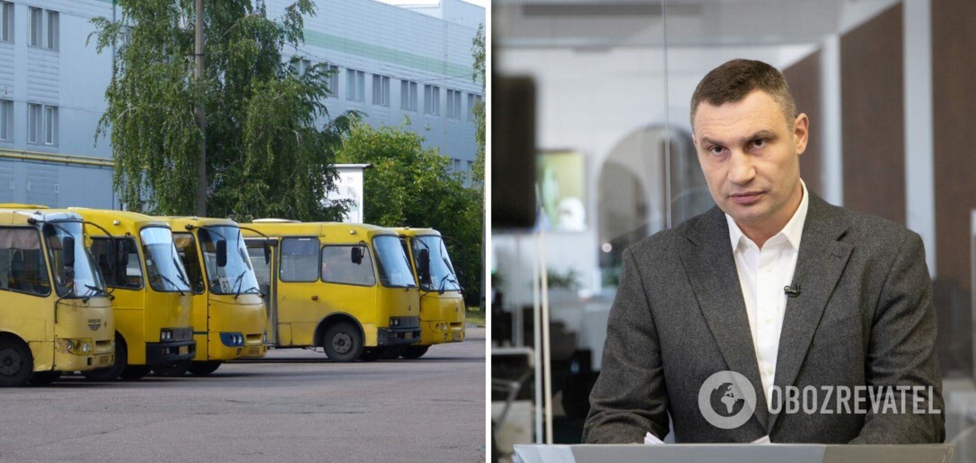 Кличко считает манипуляцией намерение Ассоциации перевозчиков Киева обратиться к власти столицы официально запретить работу маршруток