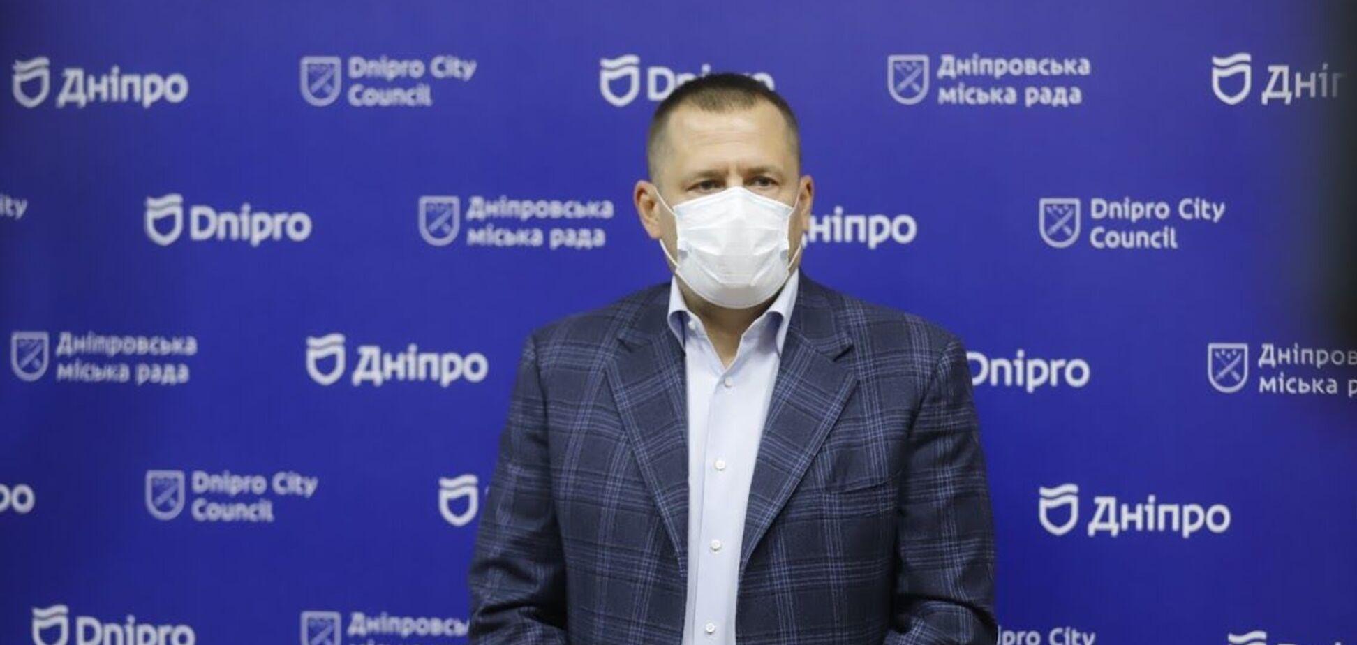 Філатов зобов'язав своїх підлеглих вакцинуватися від коронавірусу