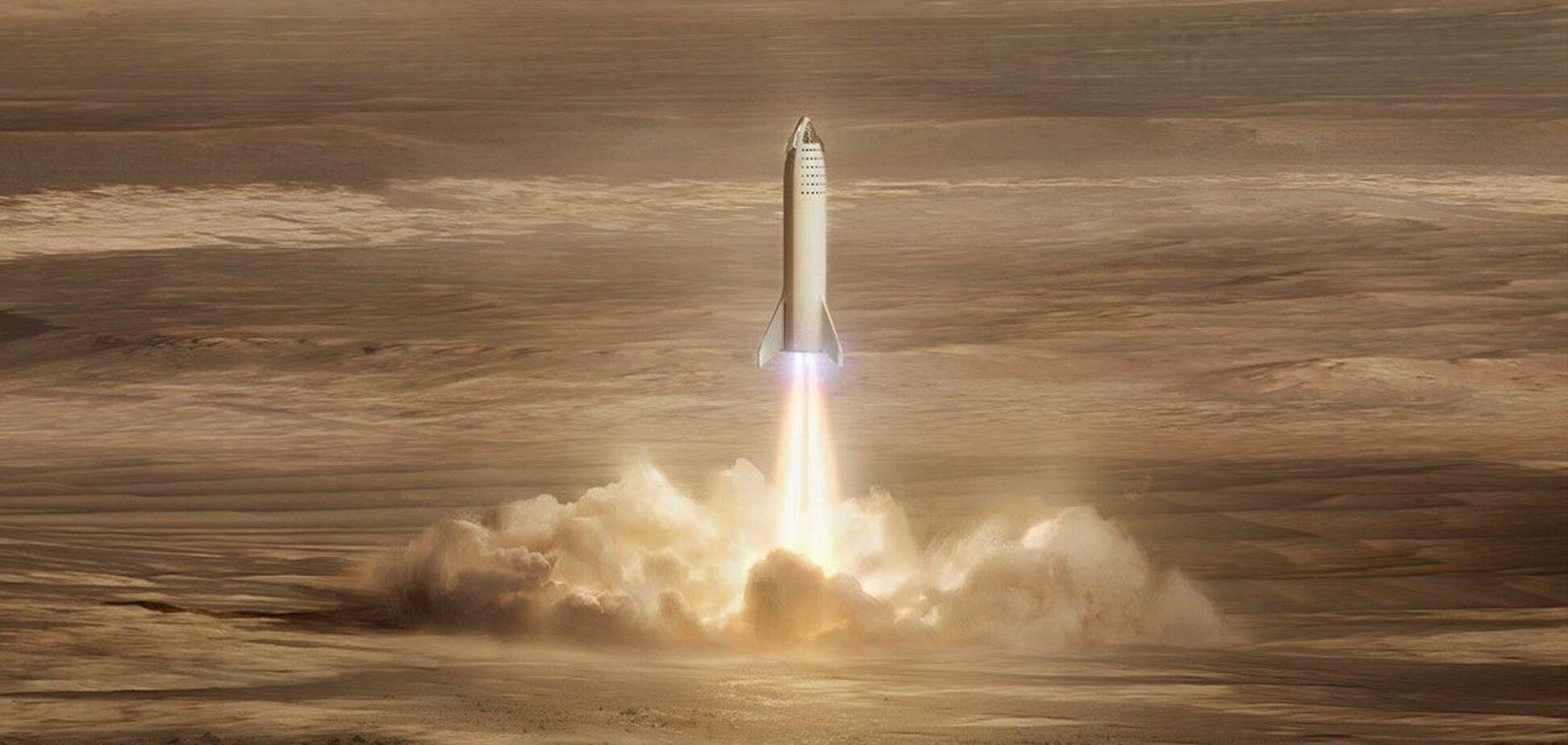 Маск анонсировал полеты на Марс задолго до 2030 года