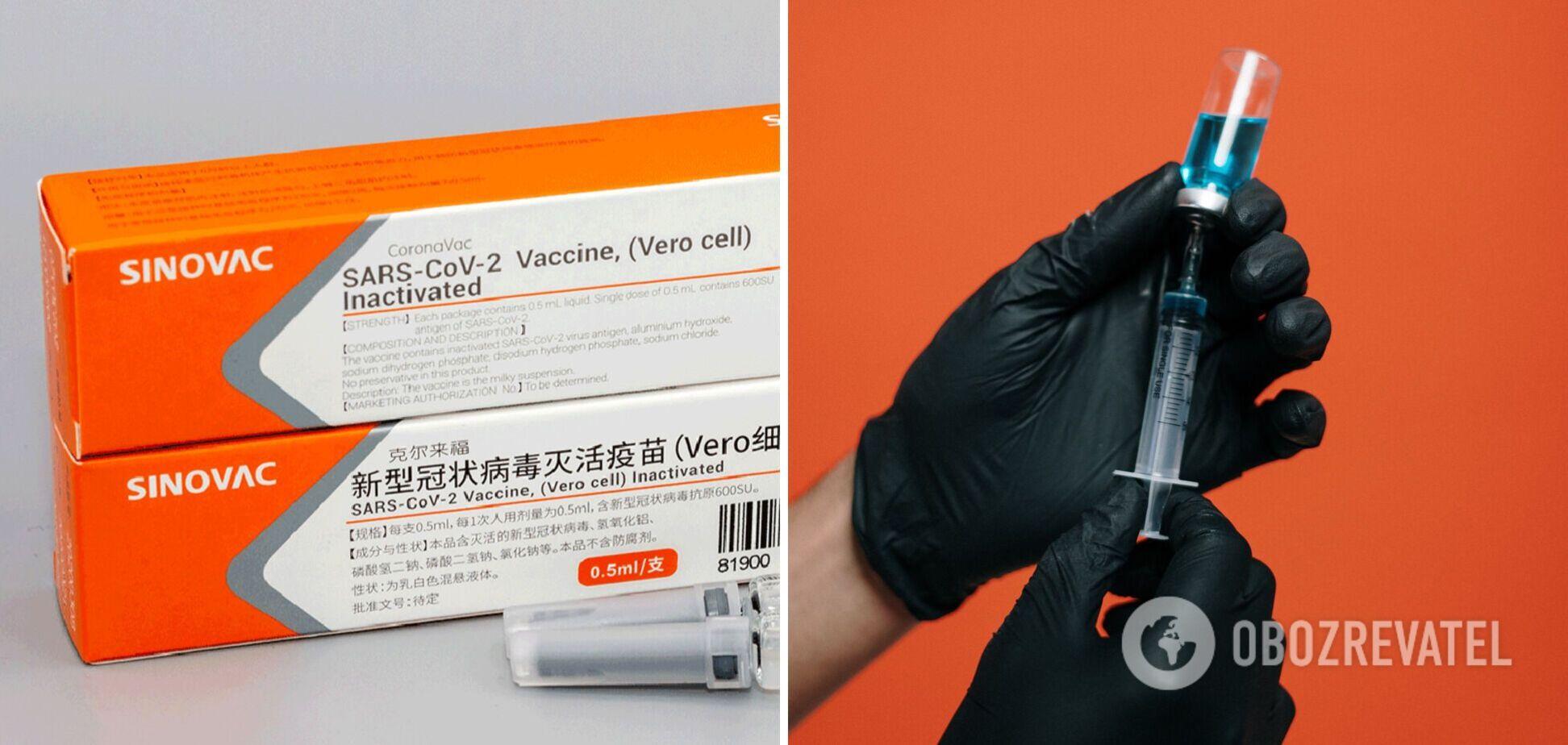 Вакцина CoronaVac