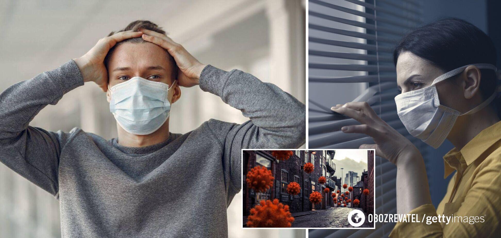 Українці вважають COVID-19 штучним, але хвилюються, що захворіють рідні – опитування