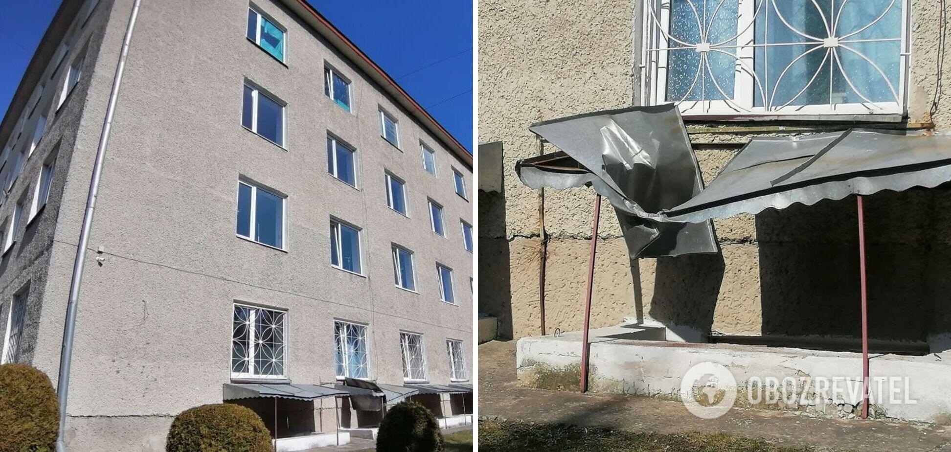 В Луцке пожилая женщина выпала из окна коронавирусного госпиталя