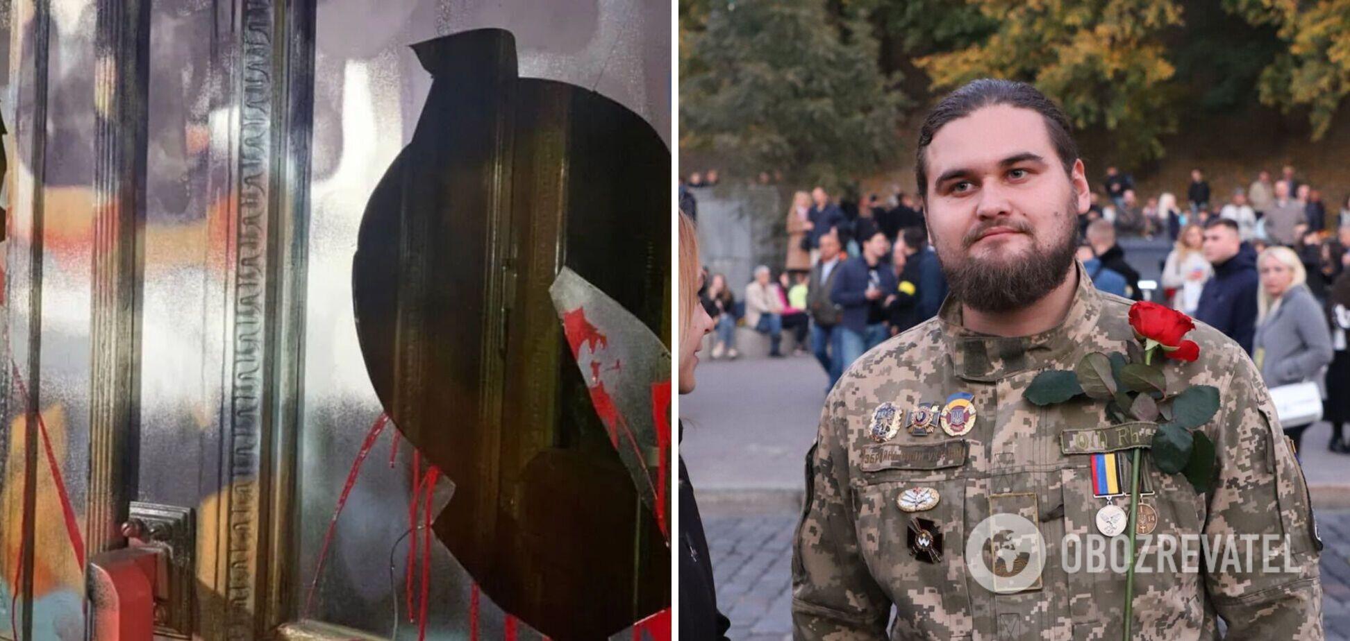 Стафійчук – про погроми на Банковій: зі Стерненком не знайомий, а вікна бив 'народний гнів'