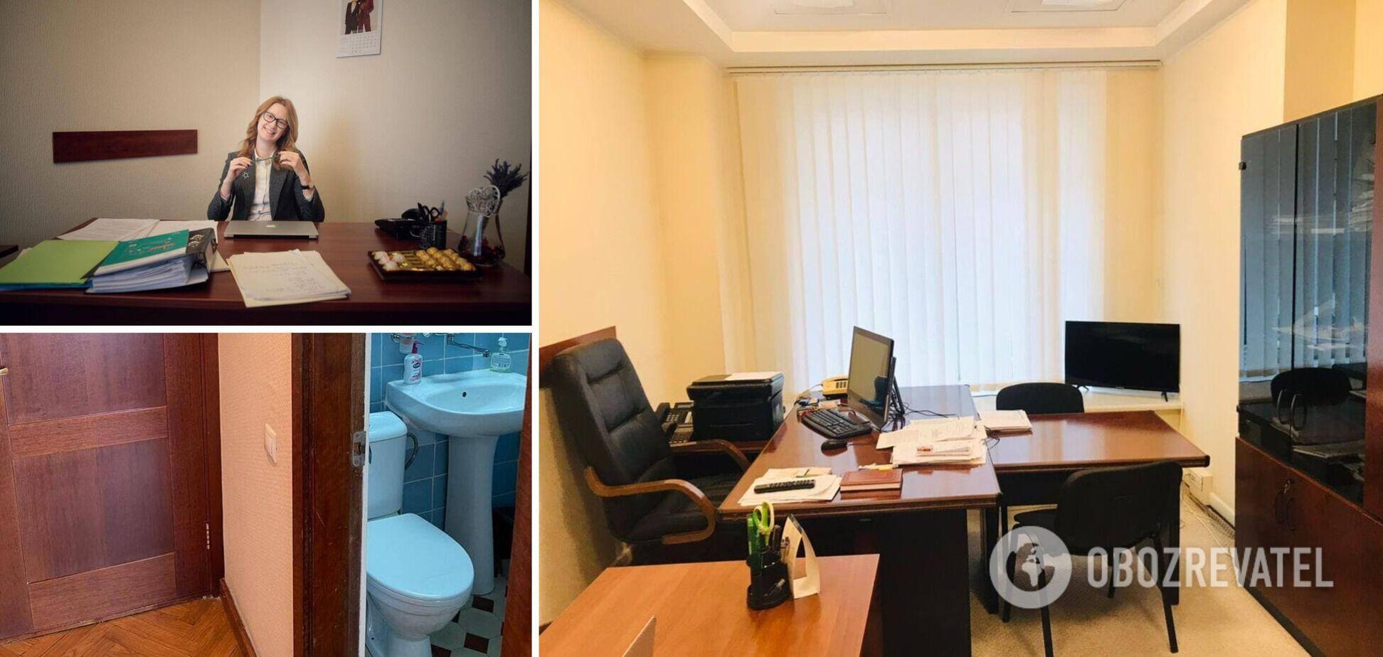 Кому один стол на троих, а кому ванна с телевизором: нардепы показали, как выглядят их кабинеты