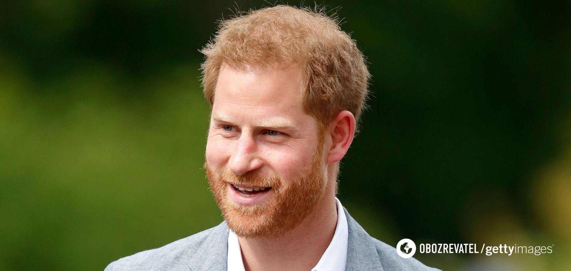 Принц Гарри оставил первое мотивационное послание на должности директора