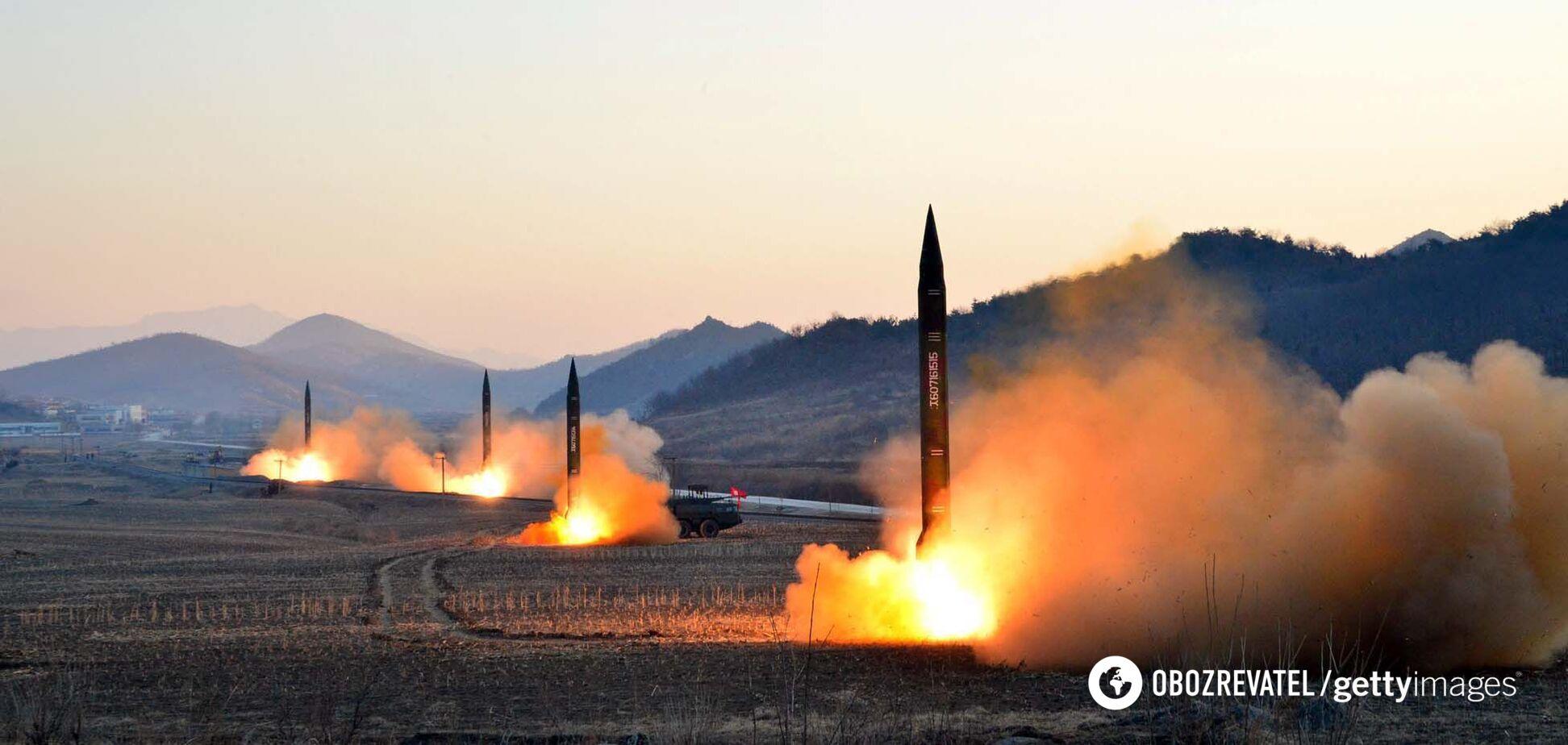 КНДР випустила ще дві балістичні ракети в бік Японії