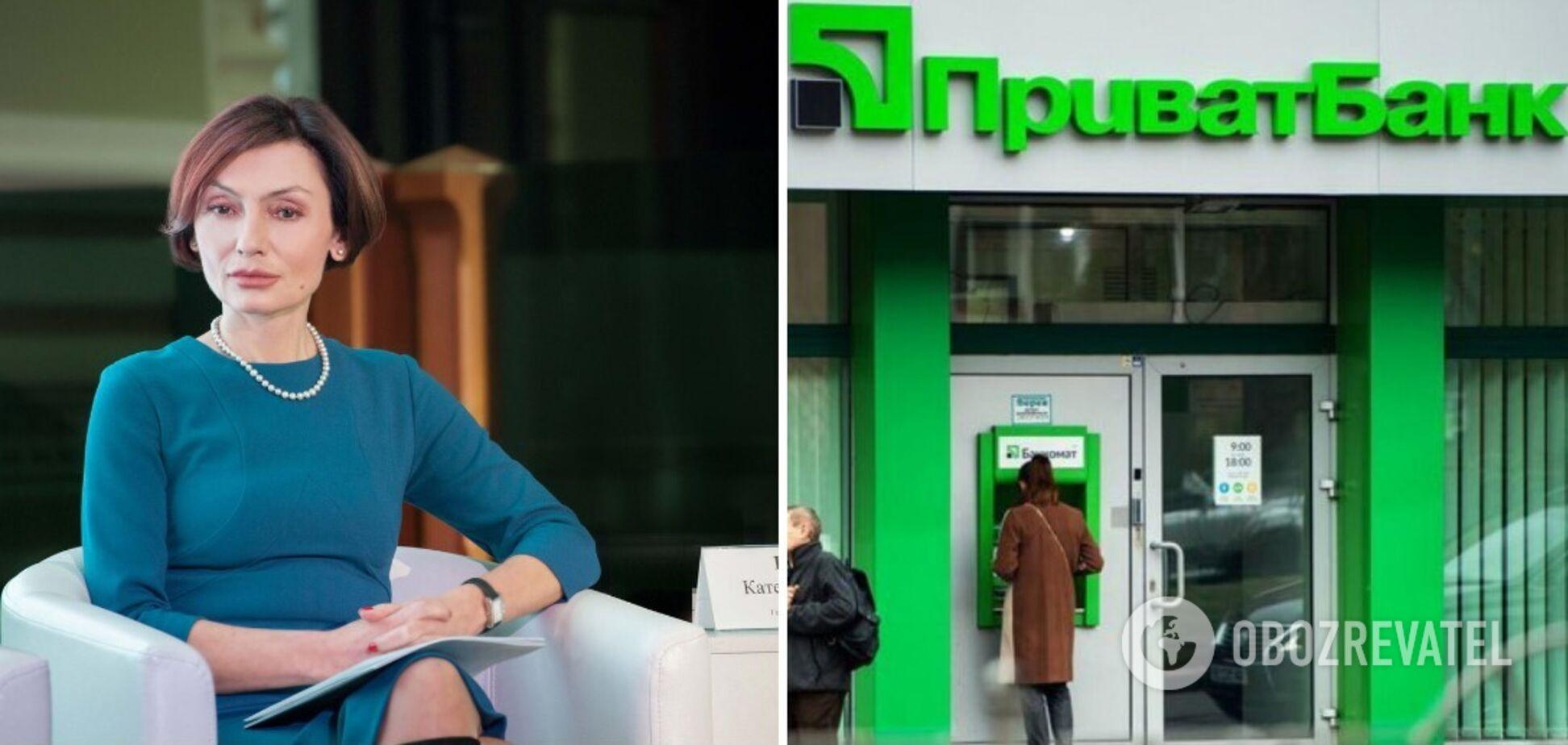 Рожкова на своїй посаді в Platinum bank робила те ж саме, що і топменеджери ПриватБанку