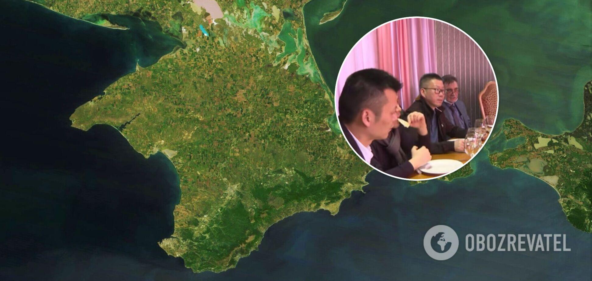 У Криму похвалилися візитом 'китайської делегації'