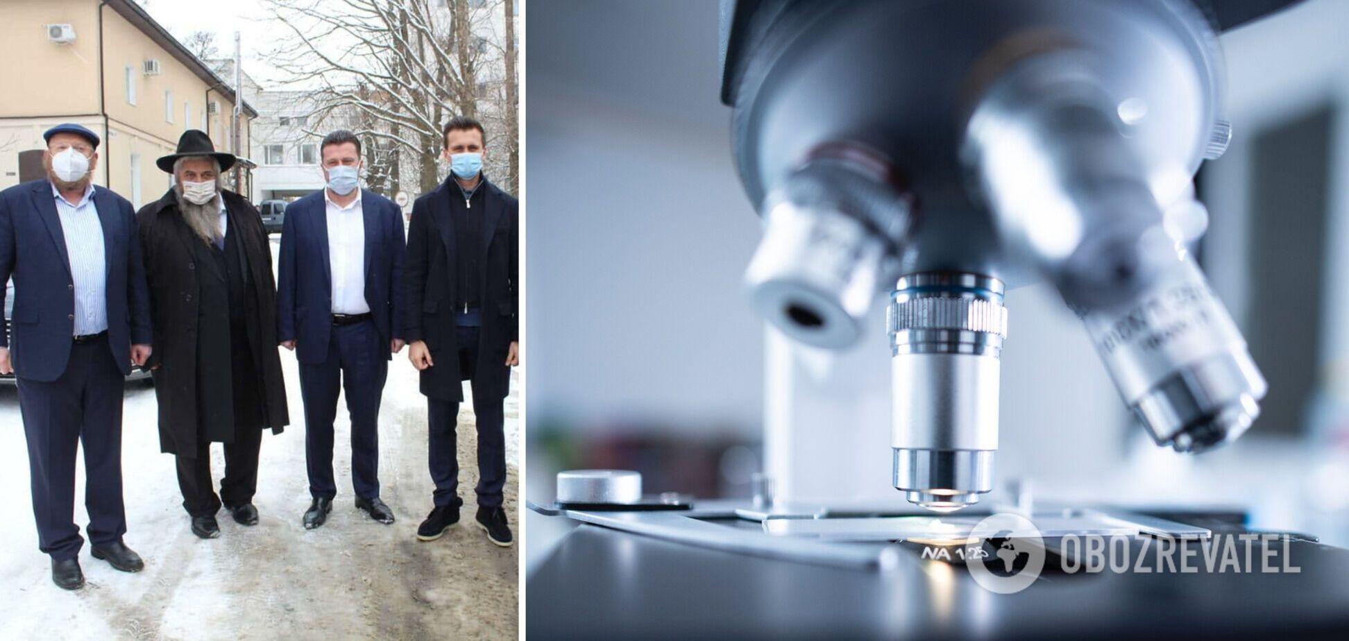 Открытие новой лаборатории