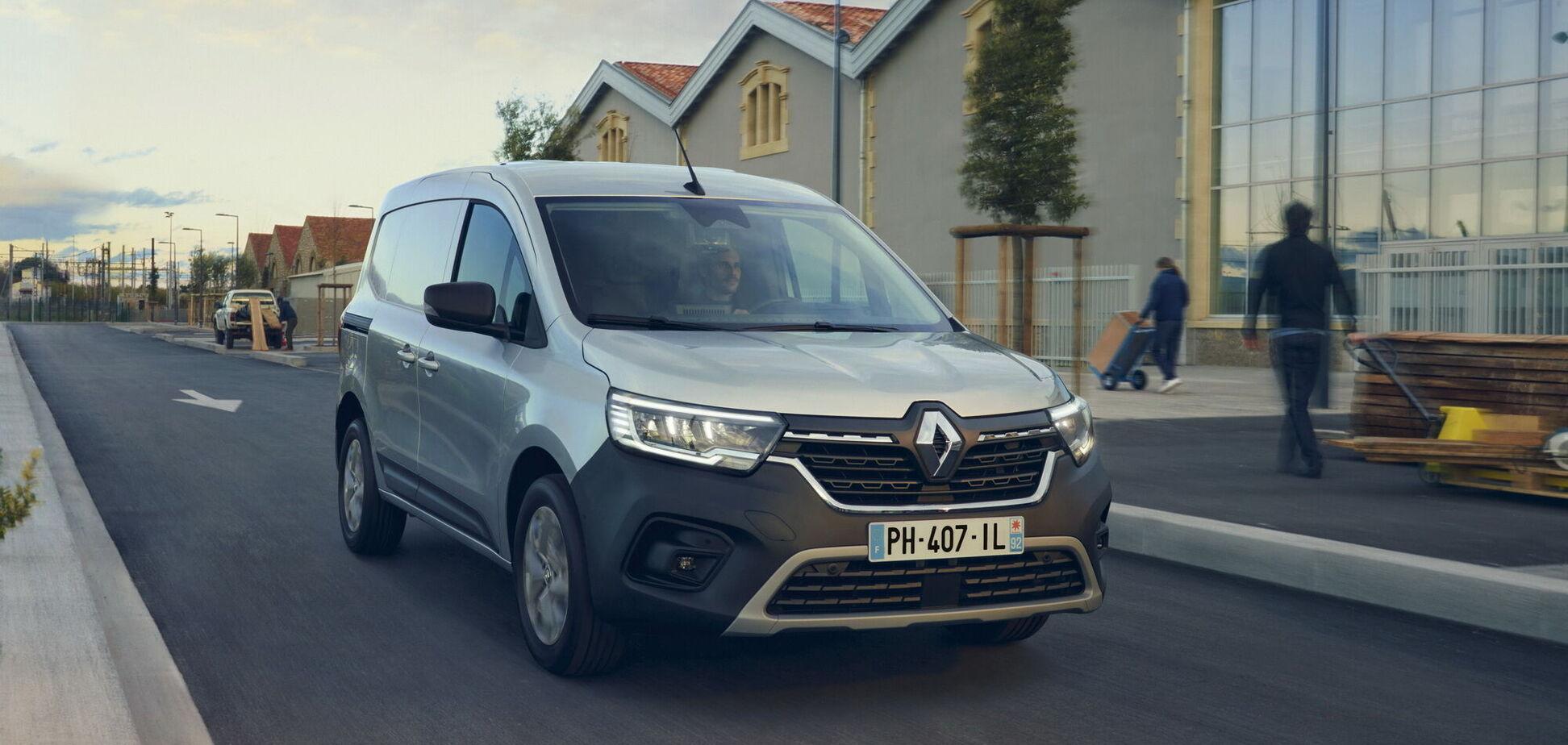 Renault показала нові Kangoo та Express