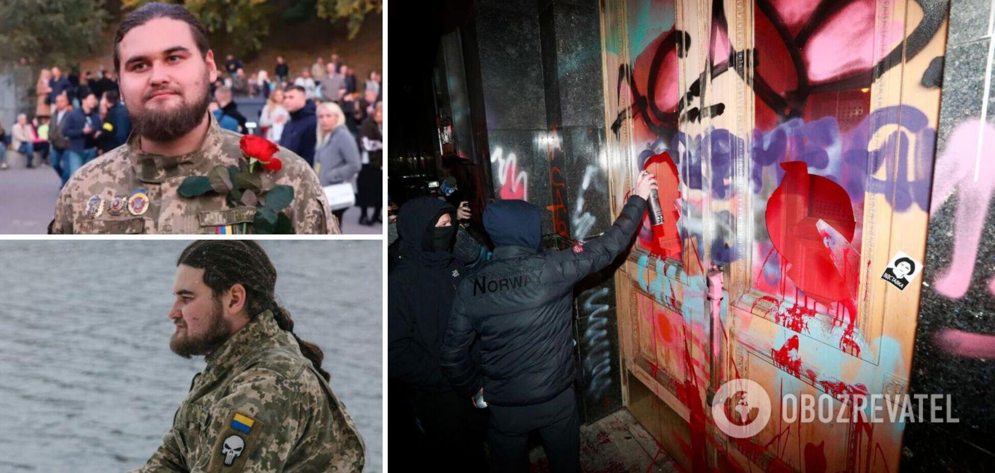У мережі розгорілася суперечка про участь у боях за Іловайськ підозрюваного в погромах на Банковій