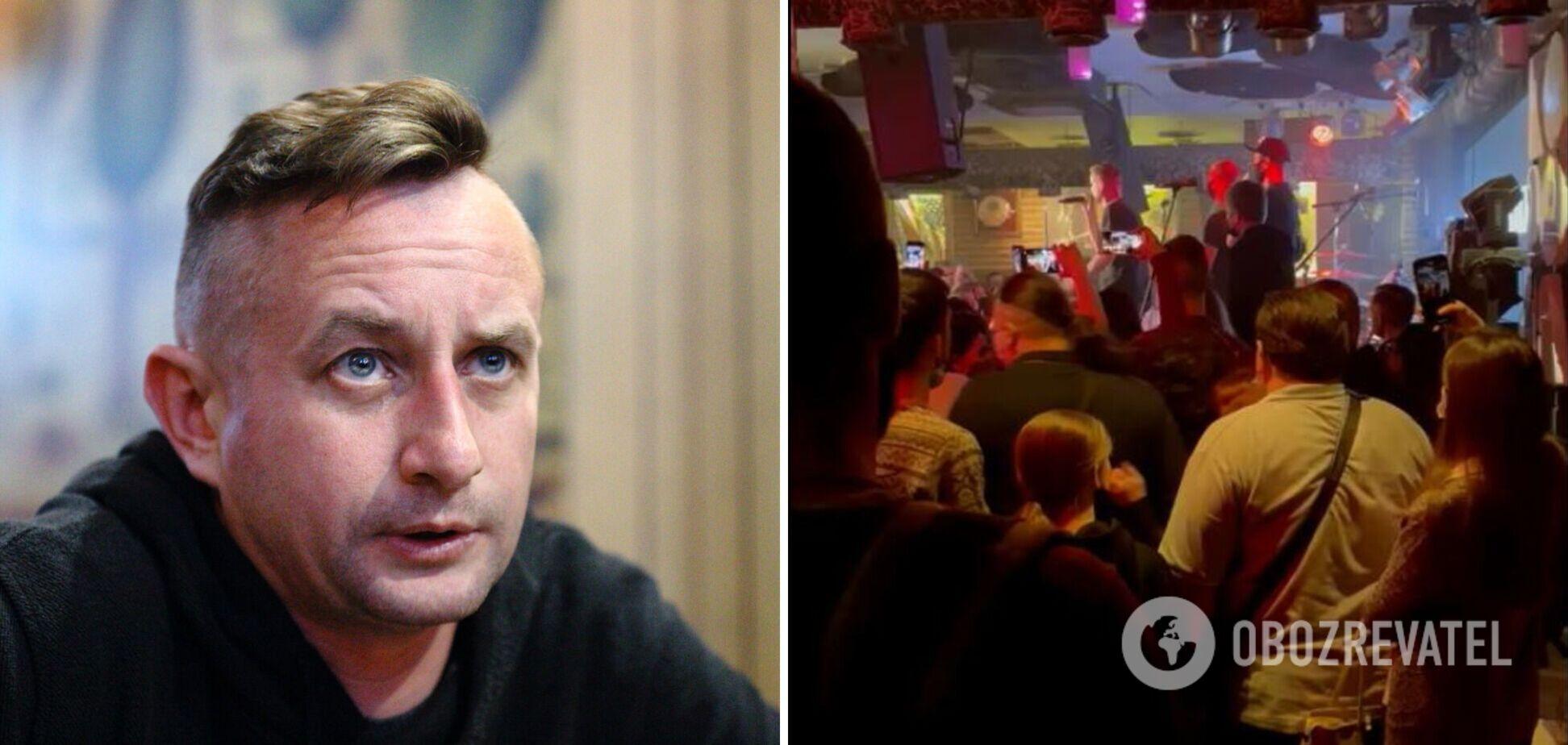 В 'оранжевом' Харькове полиция разогнала концерт Жадана: артист высмеял правоохранителей