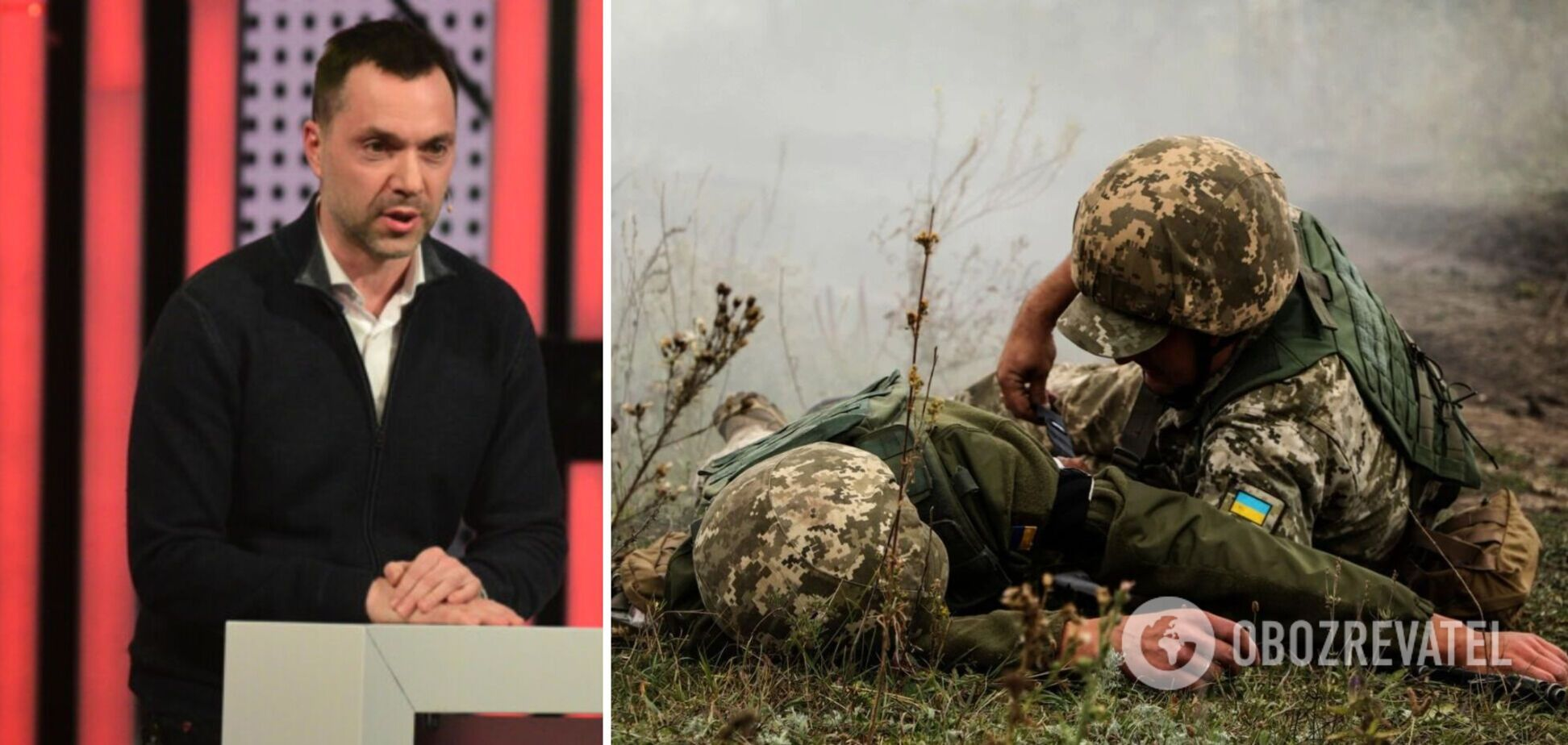 Арестович: за время перемирия погибло в пять раз меньше военных