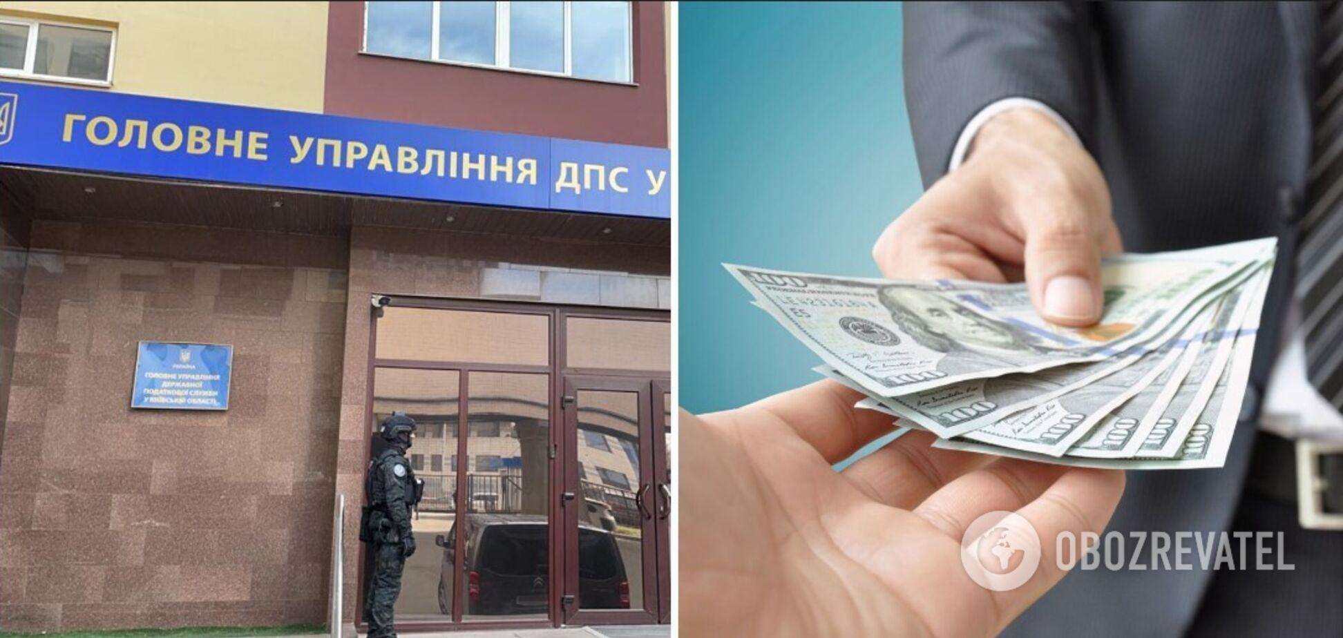 ГБР задержало главного ревизора-инспектора ГУ ГНС в Киевской области при попытке получения взятки