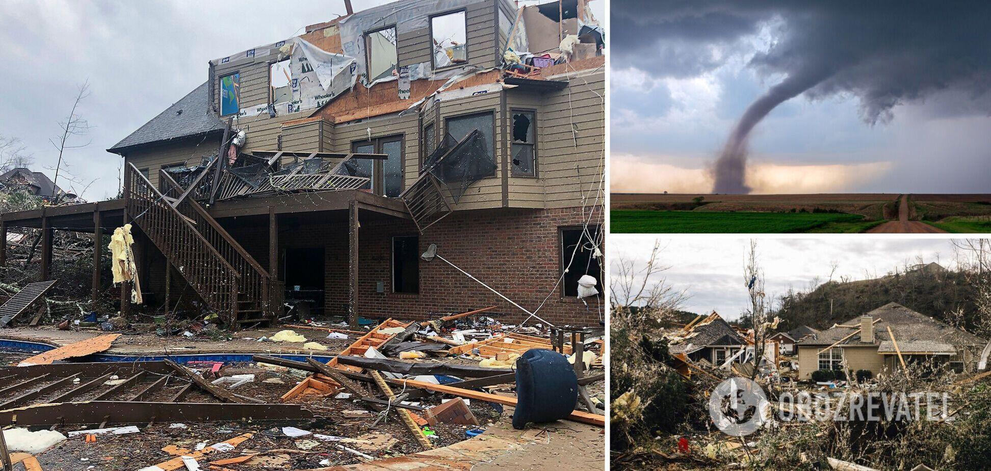 В США прокатилась серия торнадо