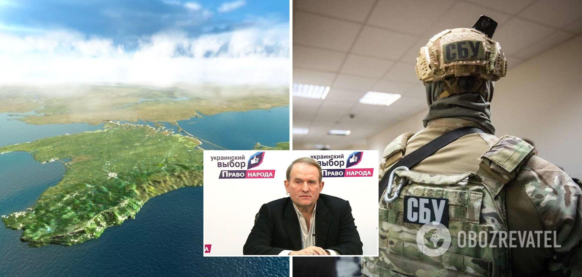 'Українському вибору' Медведчука оголосили підозри за сприяння в окупації Криму