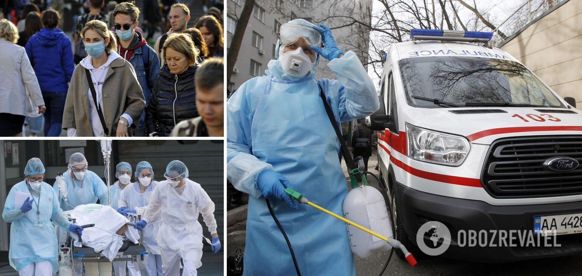 Киев остается лидером по распространению коронавируса