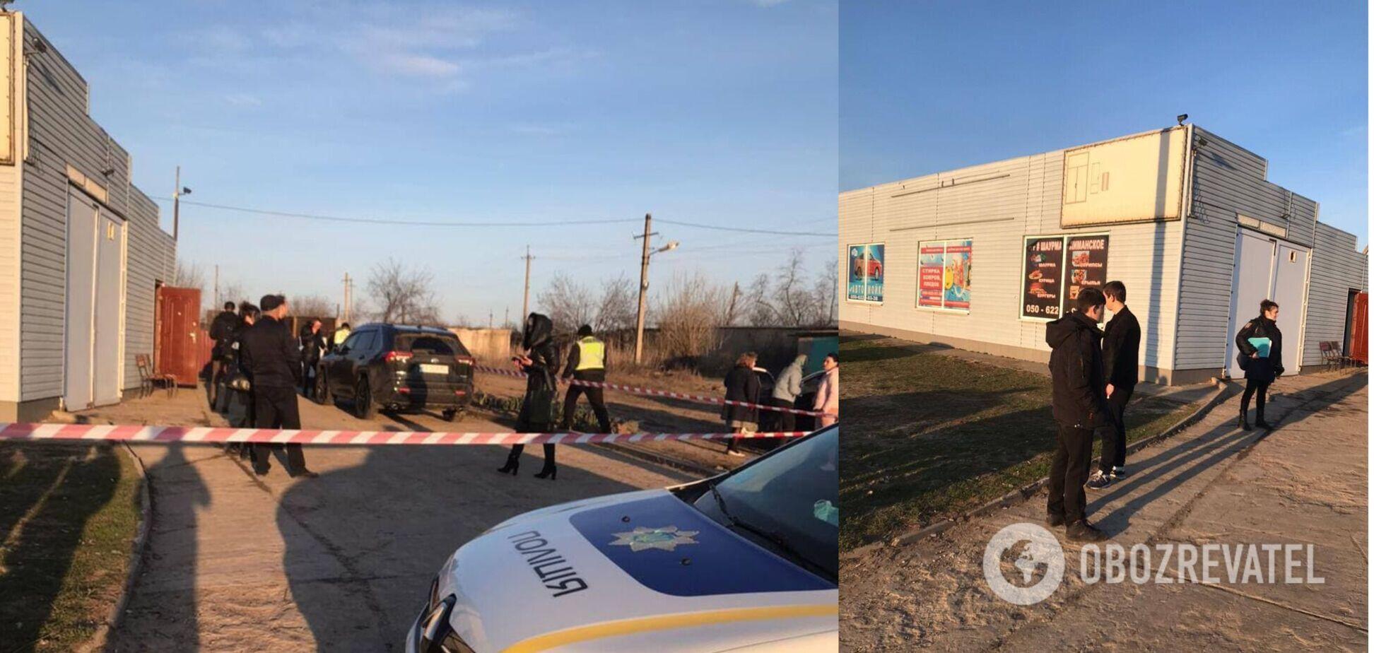 На Одещині під час конфлікту застрелили бізнесмена. Фото 18+