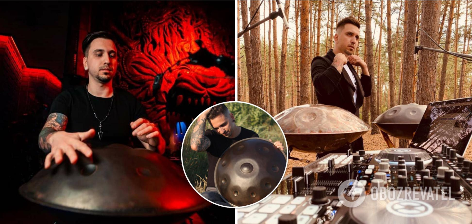 Відомий музикант Антон Стрілець – про гру на унікальному хендпані: це моє життя. Інтерв'ю