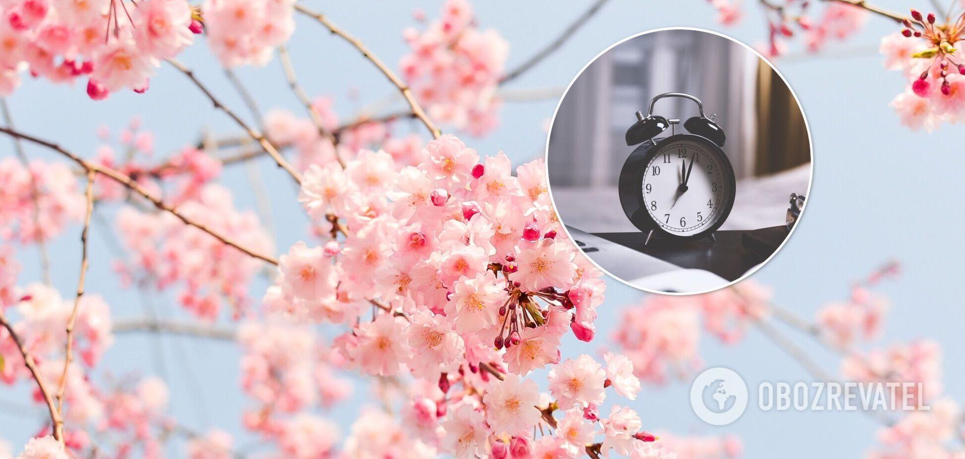 28 березня Україна перейшла на літній час