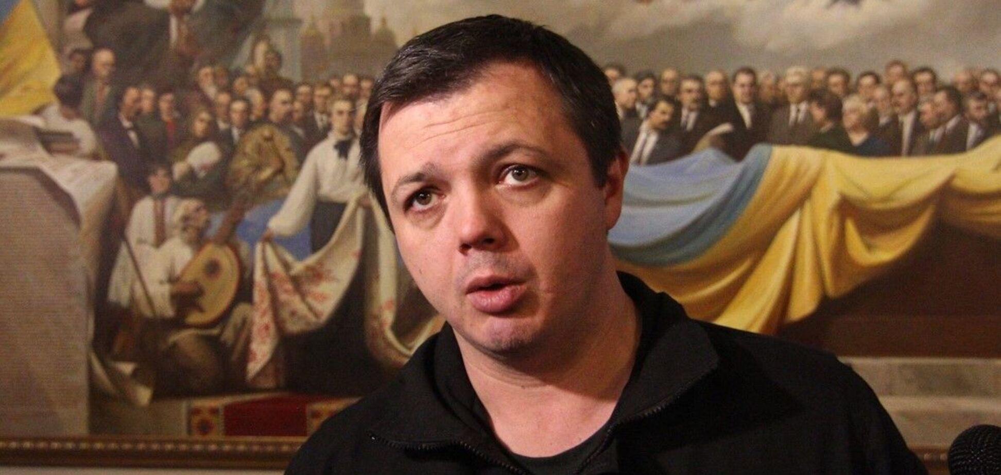 Семенченка заарештували без права на заставу. Фото та відео