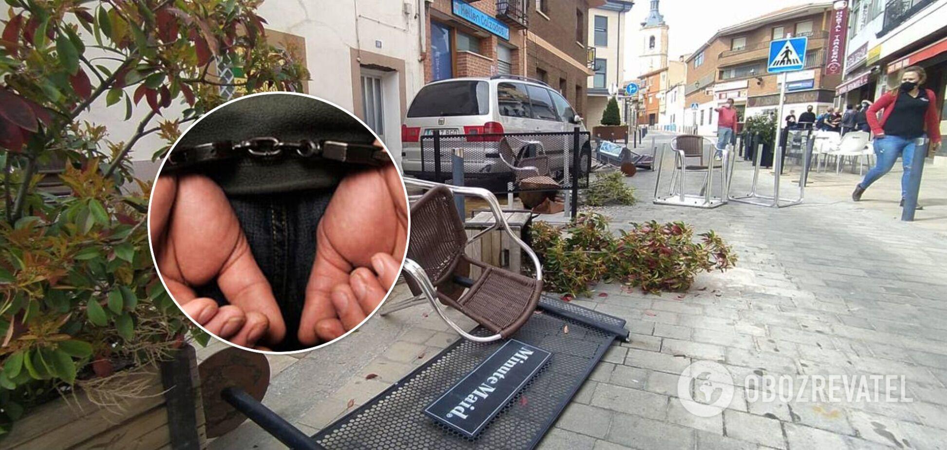 В Испании из-за наезда автомобиля пострадали семь человек. Фото