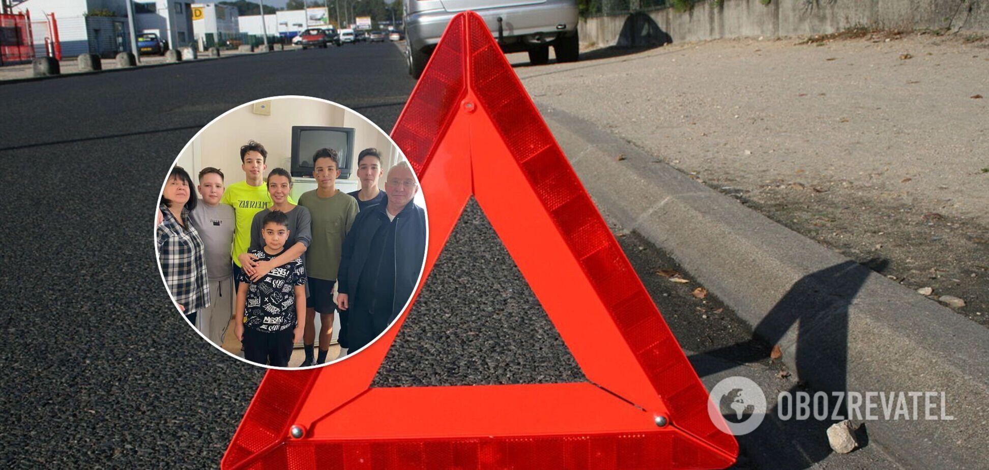 Сын нардепа Кучеренко попал в аварию. Фото последствий