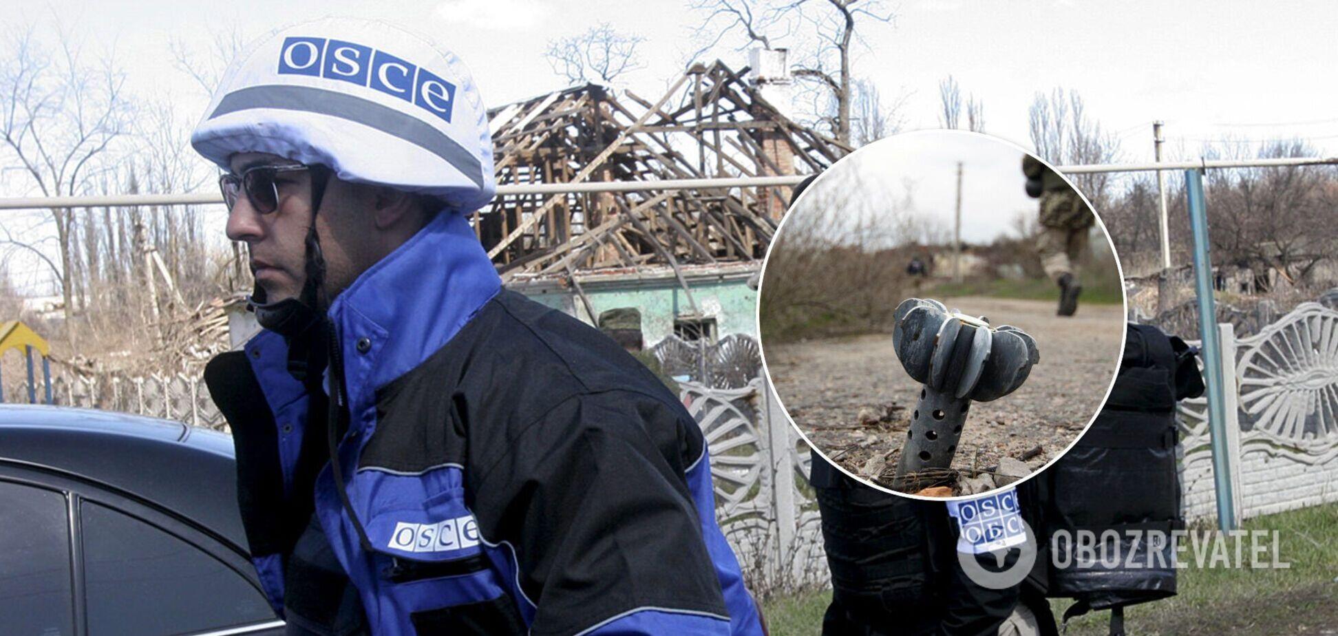 В ОБСЄ нарахували 500 обстрілів на Донбасі за добу