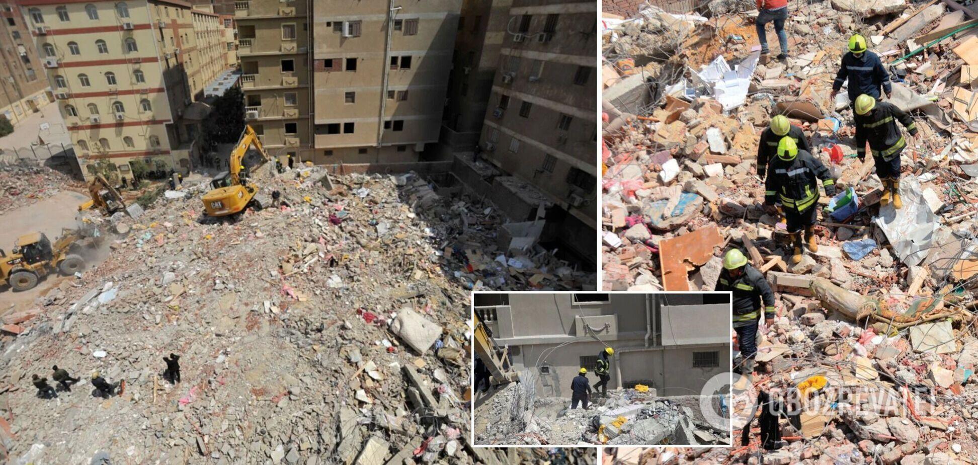 В Каире под завалами многоэтажки погибло 25 человек