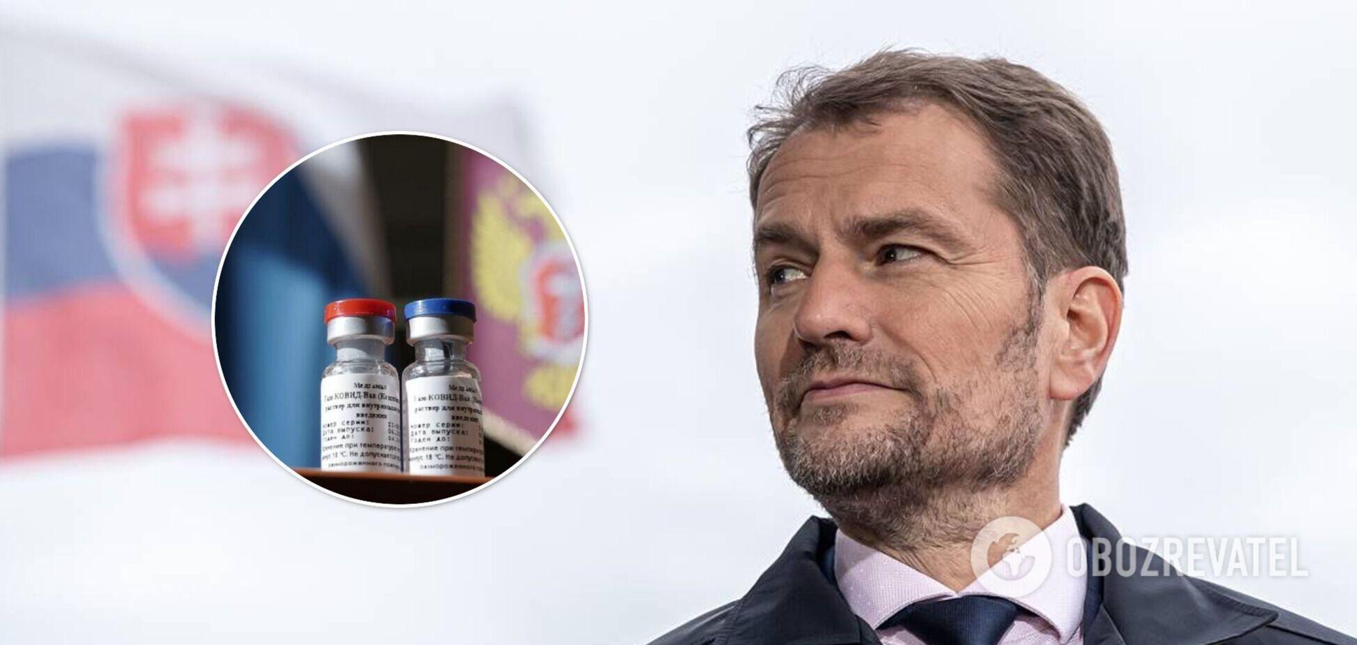 Премьер Словакии заявил об отставке после скандала с российской вакциной