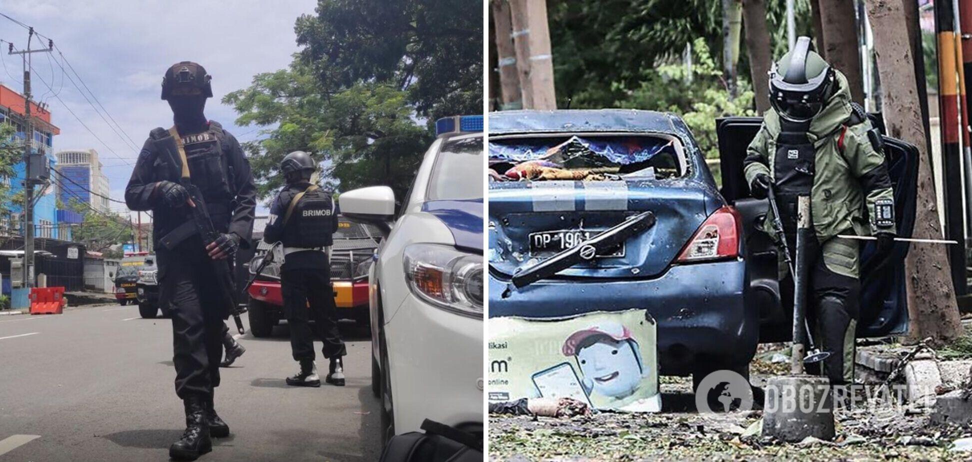 В Индонезии смертники устроили теракт у церкви, есть раненые. Фото и видео