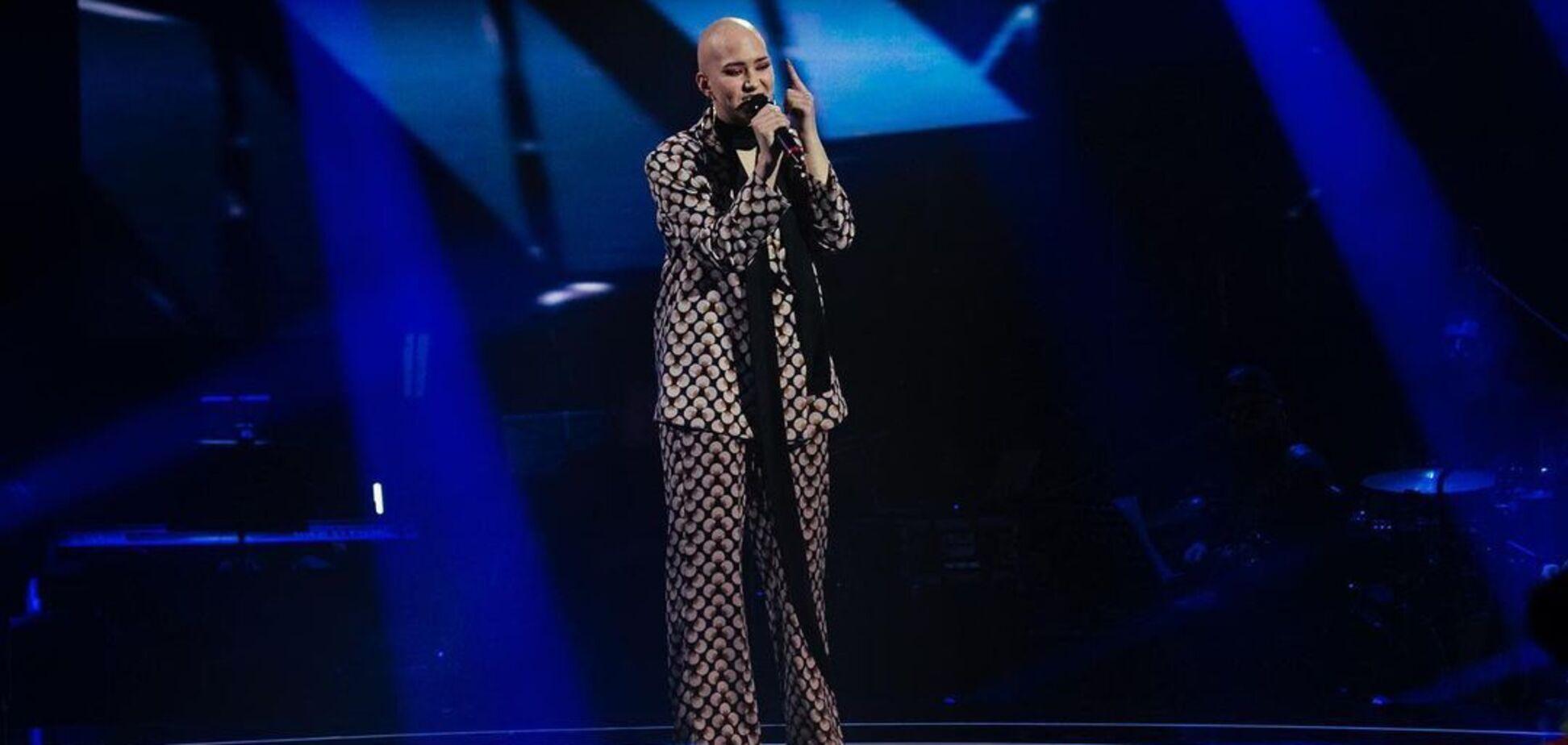 Monatik расплакался из-за участницы шоу 'Голос країни-11'