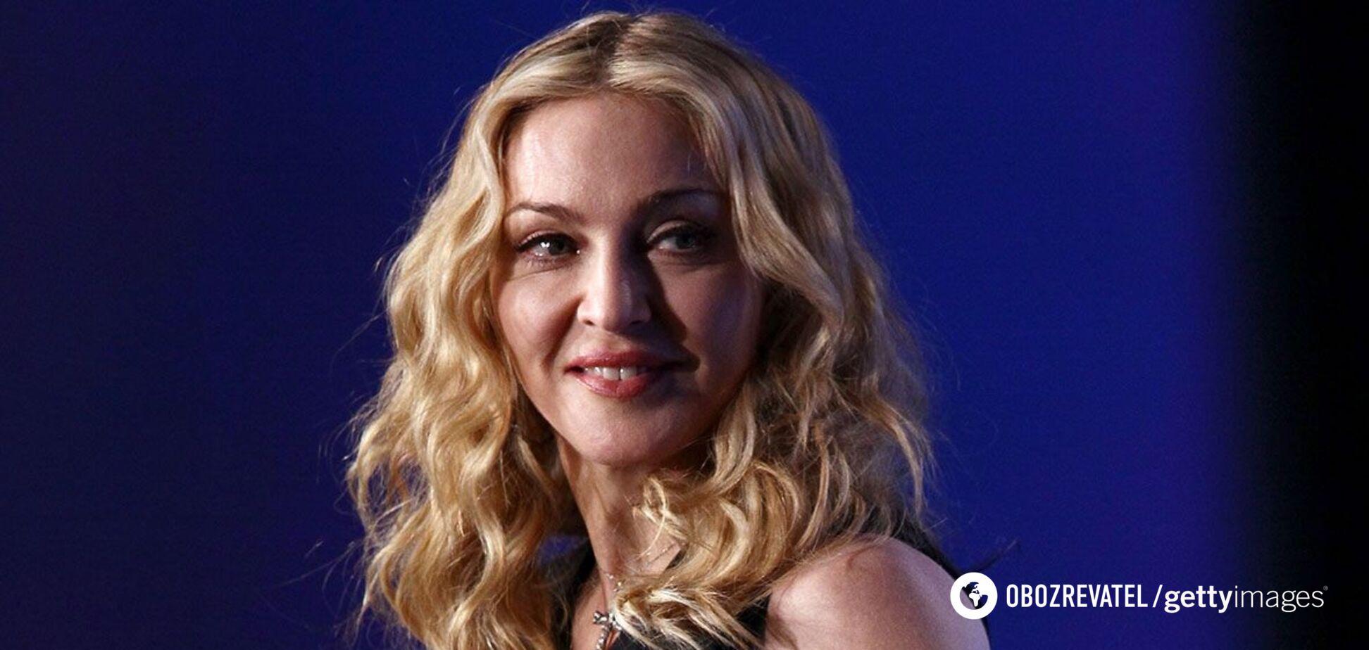 62-річна Мадонна знялася в мереживній білизні. Фото
