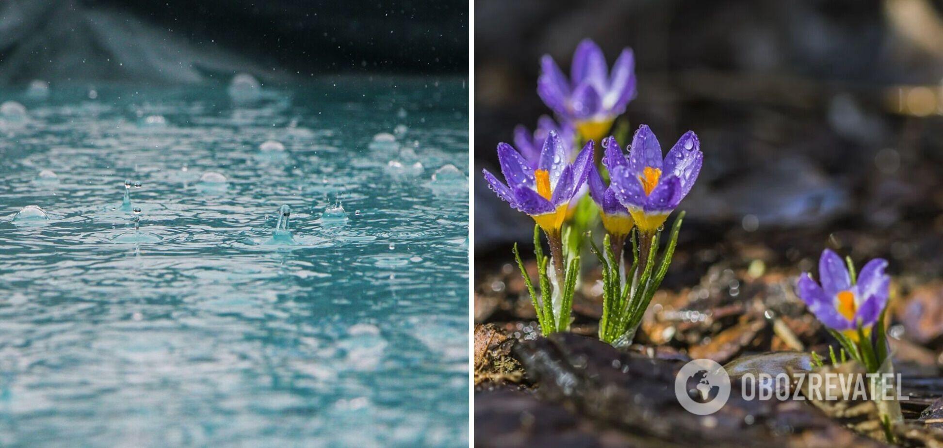 В Україні у вівторок очікуються дощі: які області накриє негода. Карта