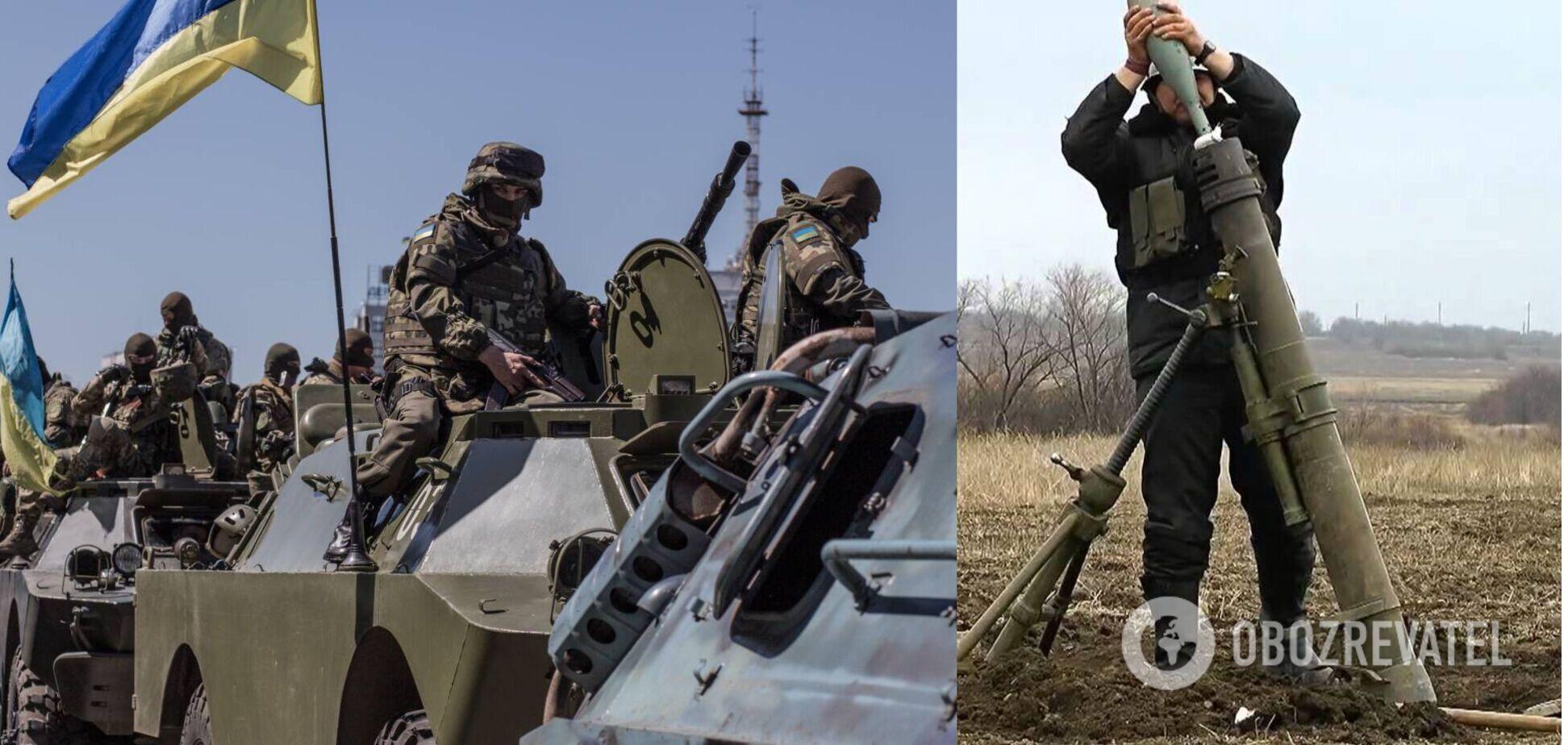 На Донбасі ворог застосував проти ЗСУ заборонену зброю – штаб ООС