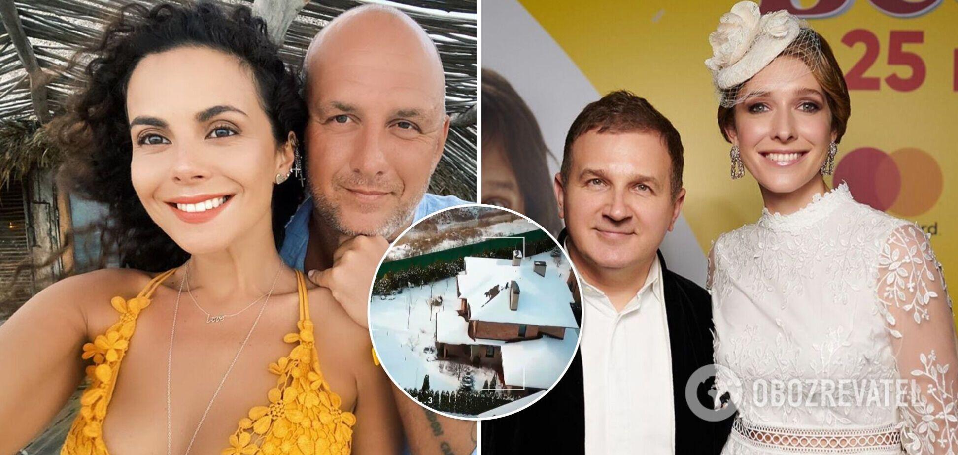 СМИ назвали стоимость особняков Потапа и Каменских, Горбунова и Осадчей