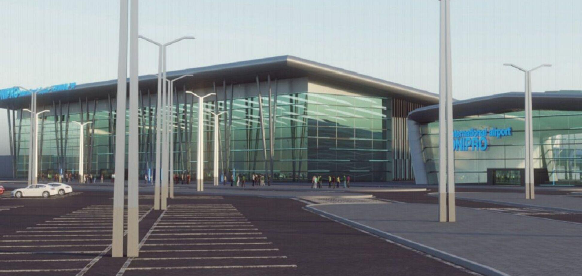 У Дніпрі зупинилося будівництво аеропорту: у Ярославського назвали винних