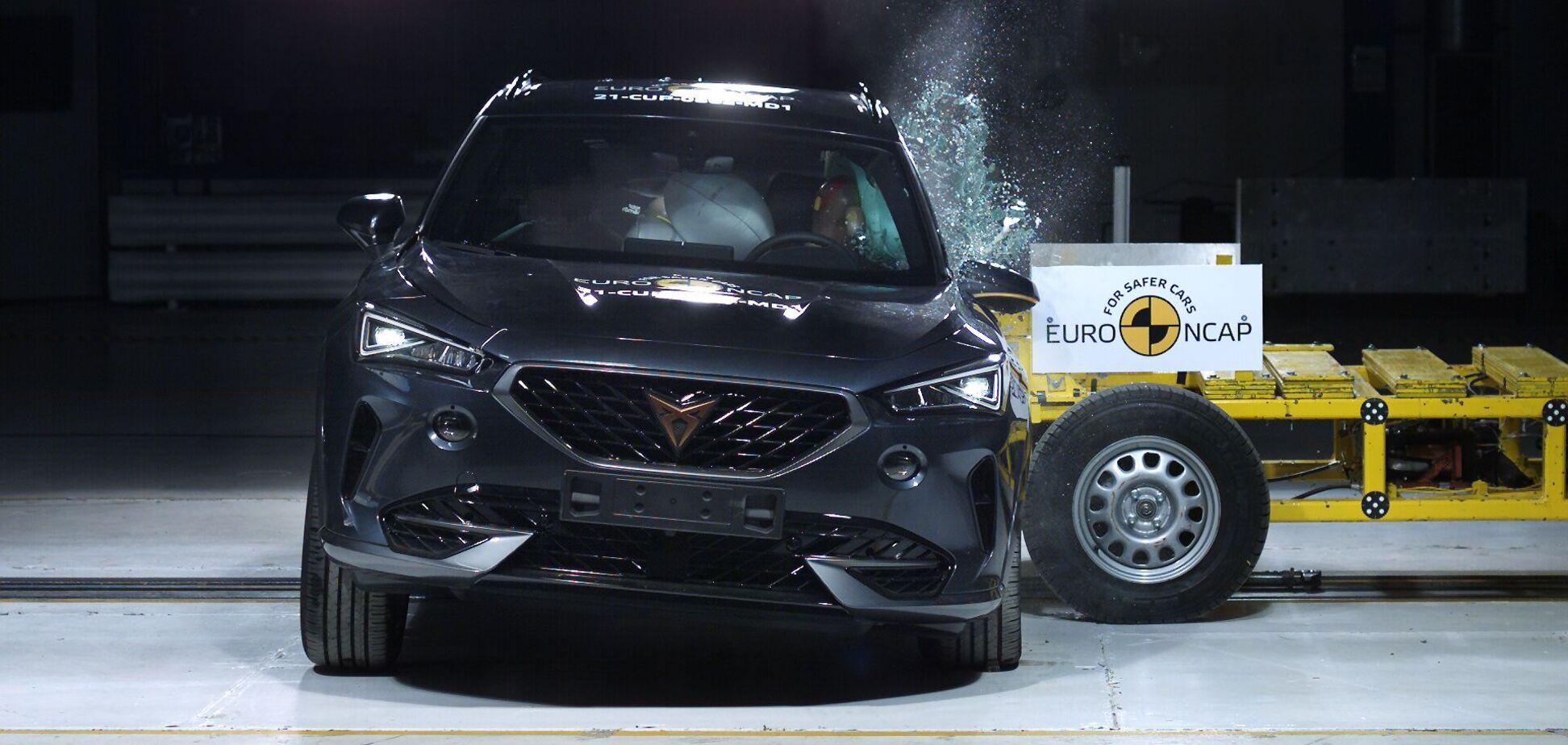 Euro NCAP презентував результати перших краш-тестів року