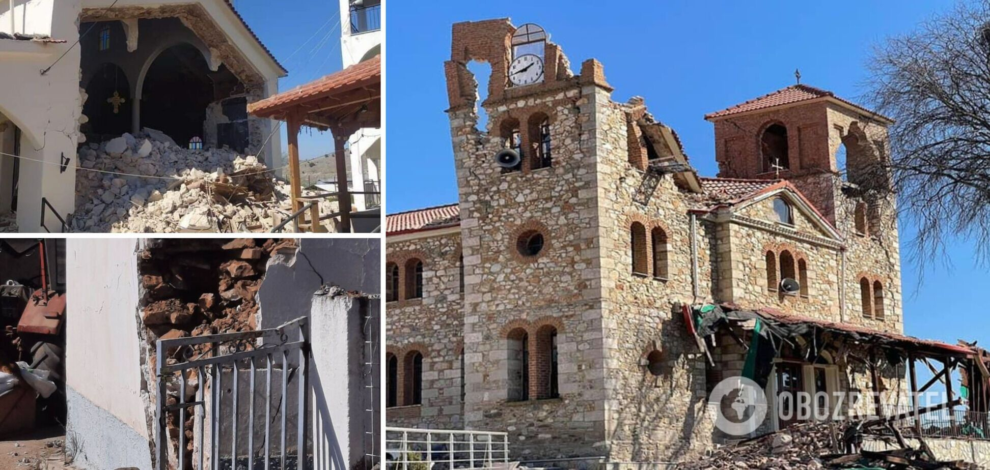 Грецію сколихнув руйнівний землетрус: фото і відео наслідків