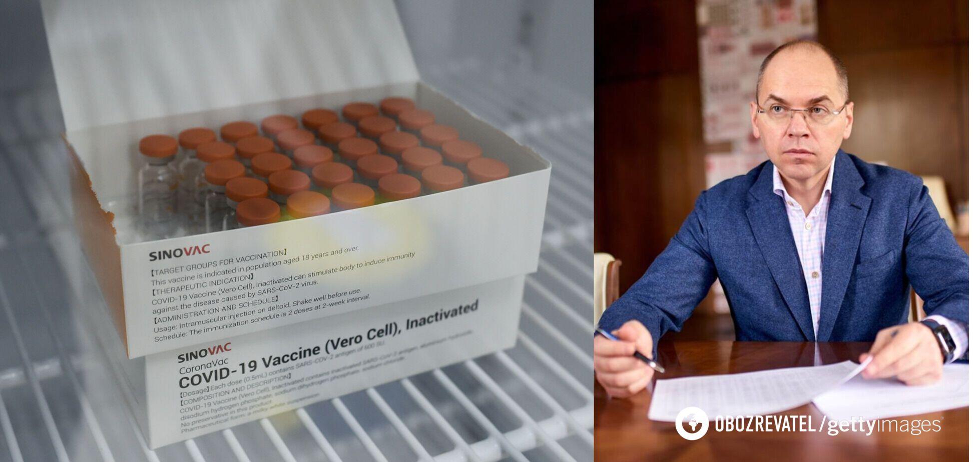 Китайська компанія не підтвердила ефективність вакцини CoronaVac, – Степанов