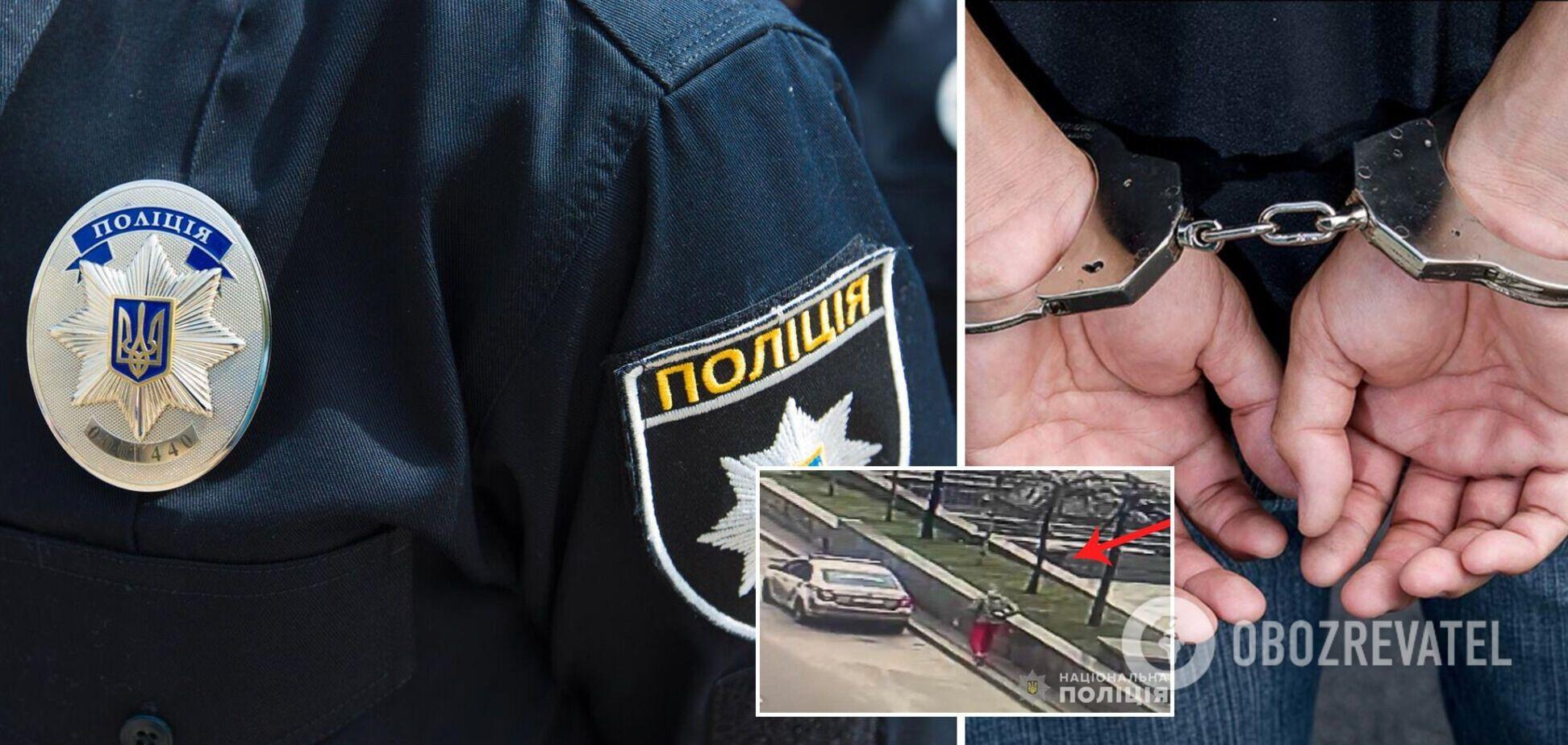 У Києві хлопець заради хайпу вдарив поліцейського в обличчя тарілкою з вершками. Відео пранку