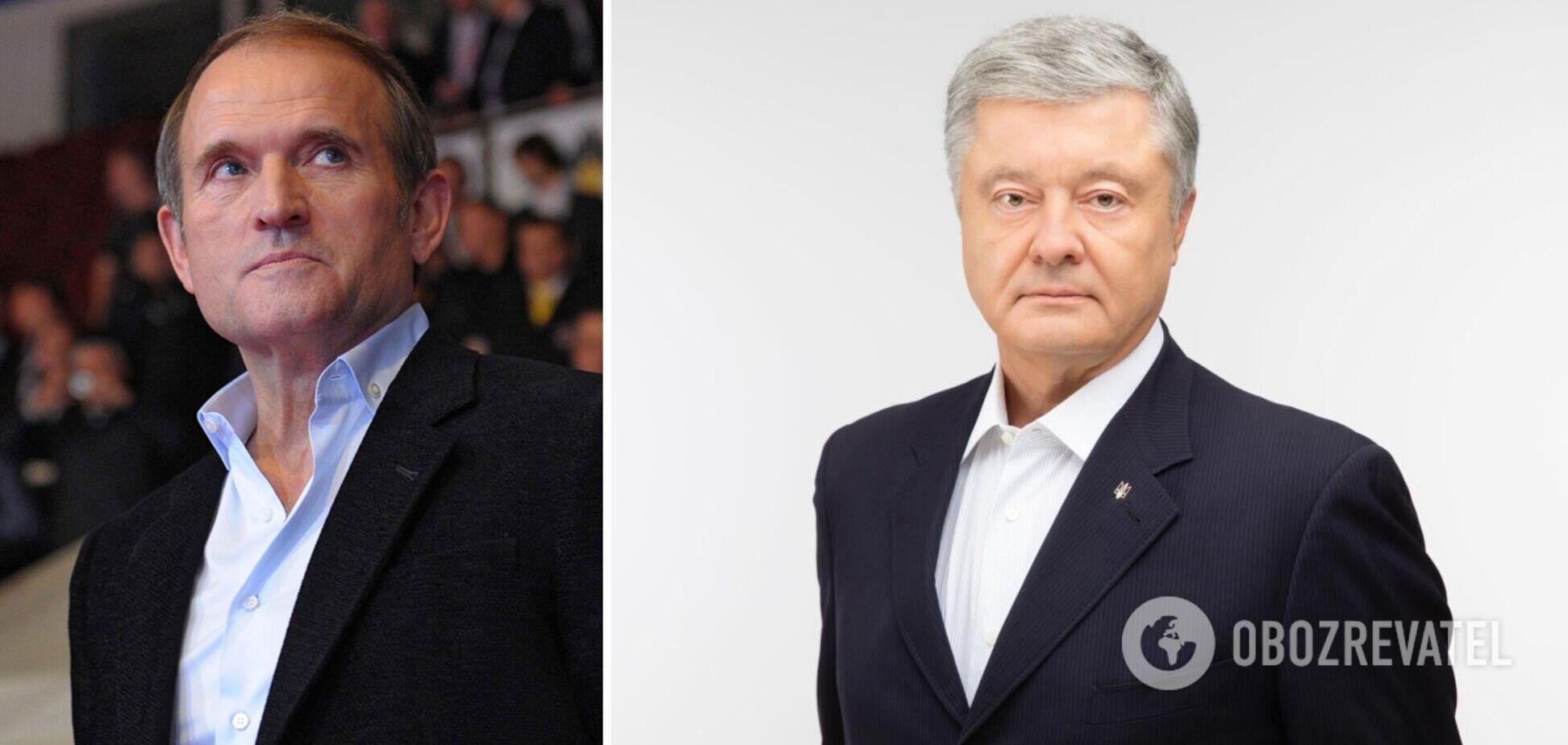 Порошенко– про вимушені комунікації з Медведчуком у 2014 році: нам вдалося переграти Путіна